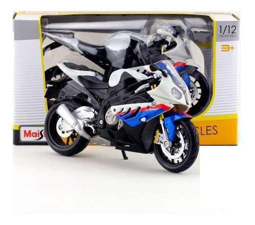 Moto De Colección Nueva Bmw S1000rr Escala 1:12 Maisto