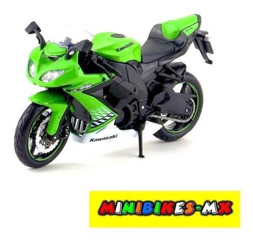 Moto De Colección Nueva Kawasaki Zx-10r Escala 1:12 Maisto