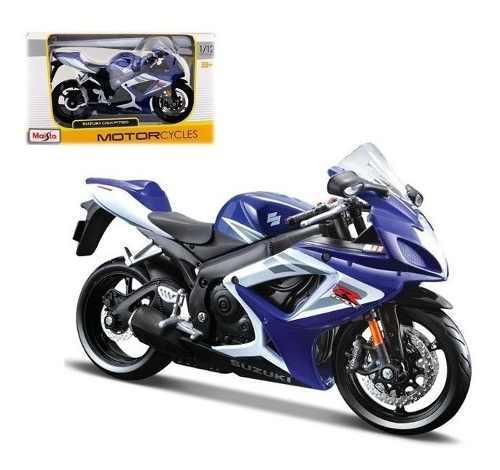 Moto De Colección Nueva Suzuki Gsx-r750 Escala 1:12 Maisto