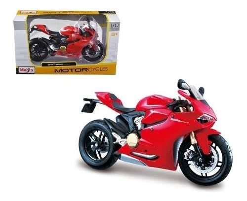 Nueva Ducati 1199 Panigale De Colección Escala 1:12 Maisto