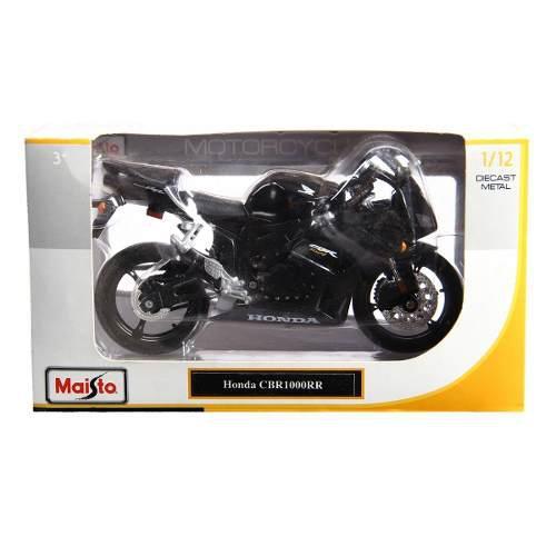 Nueva Honda Cbr1000rr De Colección Escala 1:12 Maisto Negro