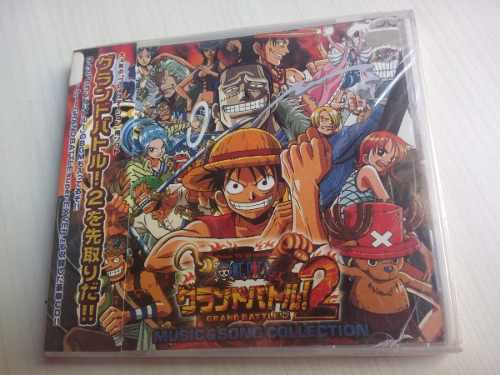 One Piece 2 Grand Battle 2 Ost Anime Cd Manga Comics Japon