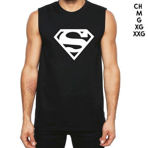 Playera Sin Mangas Sport De Logo De Superman Dc Comics