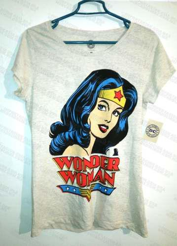Playera Wonder Woman Mujer Maravilla Dc Comics Original