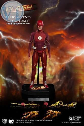 Real Master Series Dc Comics: The Flash 1/8
