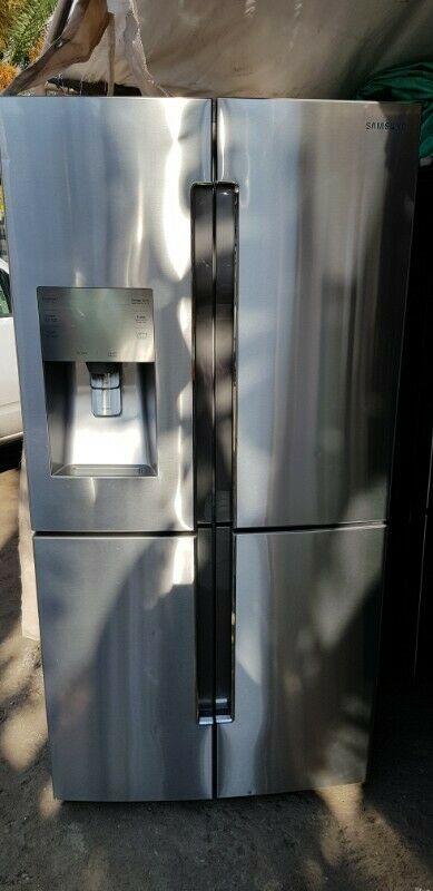 """Refrigerador samsung 4 puertas 36"""""""