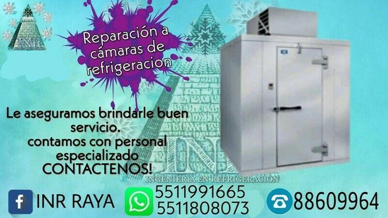 Reparacion y Servicio a Camaras de Refrigeracion
