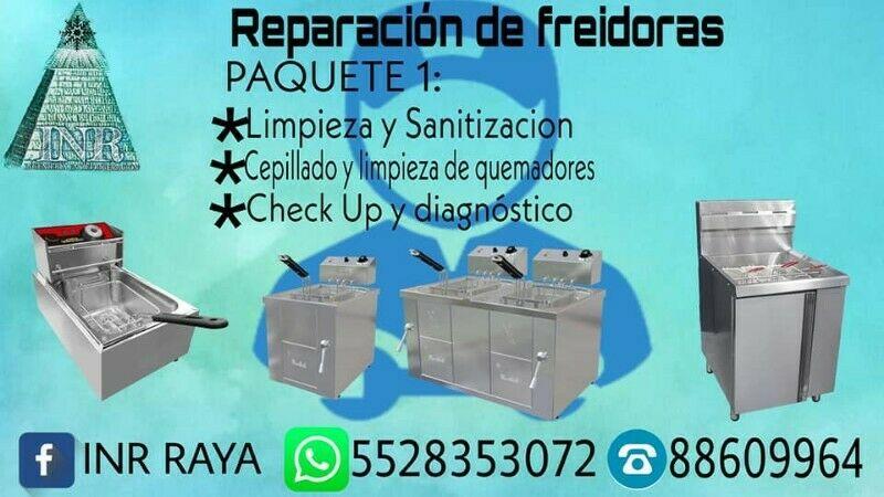 Reparacion y Servicio a Freidoras