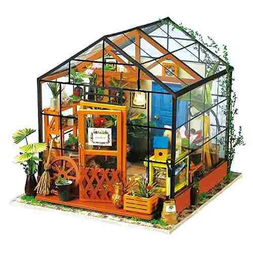 Robotime Bricolaje Casa De Muñecas De Madera Miniatura