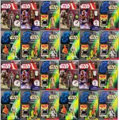 Star Wars Remate De Diversas Figuras De Star Wars
