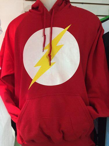 Sudadera The Flash Cerrada Infantil Con Gorro Dc Comics