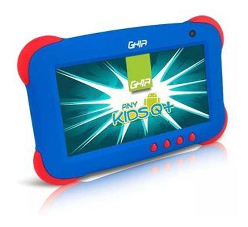 Tablet Ghia Kids Niños Uso Rudo Quadcore Azul/ Rosa Android