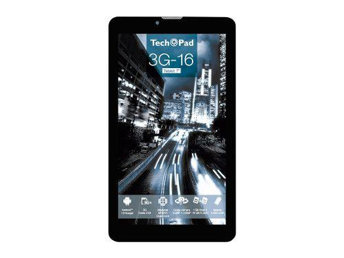 Tablet Tech Pad 7 3g-16gb Doble Camara Dual Sim Wi.fi + 3g