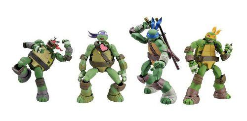 Teenage Mutant Ninja Turtles Tortugas Revoltech X Set 4