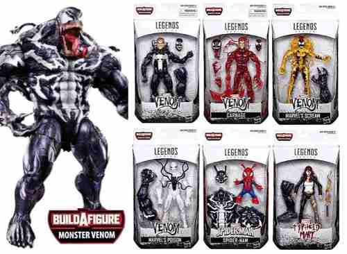 Venom Marvel Legends Set De 6 Figuras Hasbro