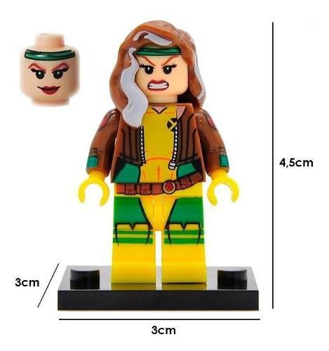X Men Marvel Figura Compatible Lego Rogue Apocalipsis