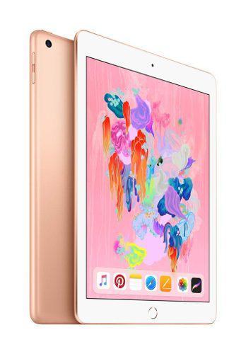 iPad 6 128gb Wifi Gold Oro 9.7 Pulg 6ta Gen Nva Sellad A1893