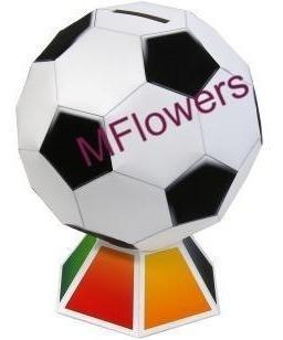 Alcancia Balon De Futbol Armable En 3d Modelismo Manualidad
