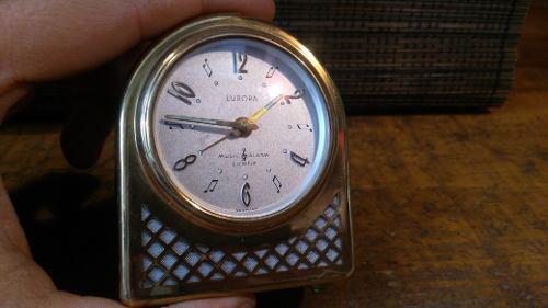 Antiguo Reloj Despertador Marca Europa Hecho En Alemania
