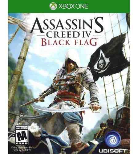 Assassins Creed Iv 4 Black Flag Xbox One Nuevo