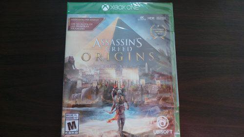 Assassins Creed Origins 4k Hdr Xbox One Nuevo Sellado