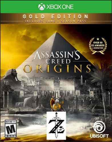 Assassins Creed Origins Gold Xbox One 2x1