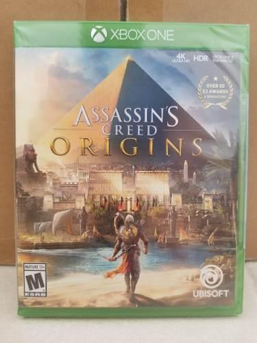 Assassins Creed Origins Xbox One Nuevo Sellado