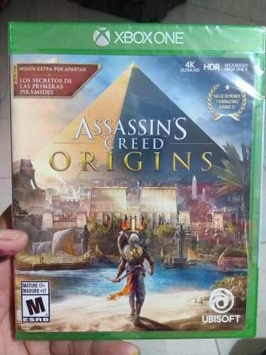 Assassins Creed Origins Xbox One Nuevo (en D3 Gamers)