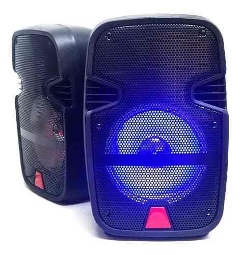 Bafles Amplificados 8 Pulgadas Bluetooth 2 Piezas Oferta