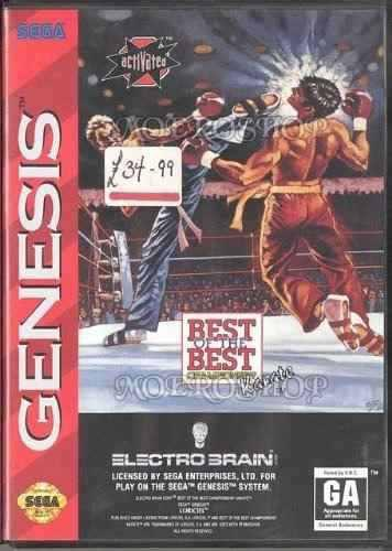 Best Of The Best Championship Karate - Sega Genesis