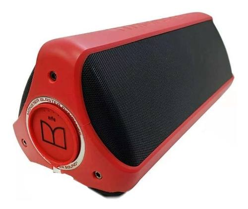 Bocina Monster Dynamite Bluetooth A Prueba De Agua Ipx7