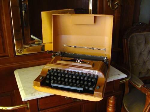 Bonita Maquina De Escribir Remington 25 Antigua / Vintage