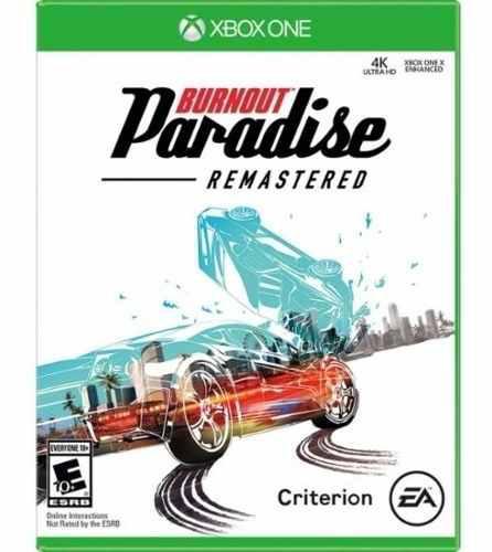 Burnout Paradise Remastered Para Xbox One Nuevo Y Sellado