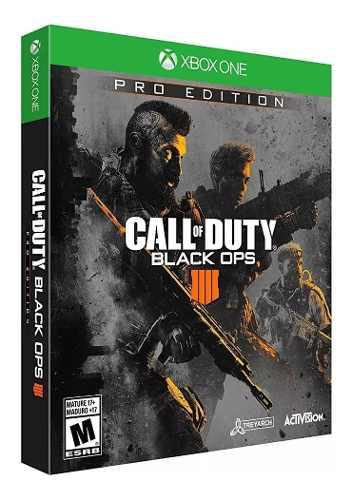 Call Of Duty Black Ops 4 Pro Edition Xbox One Nueva Sellada