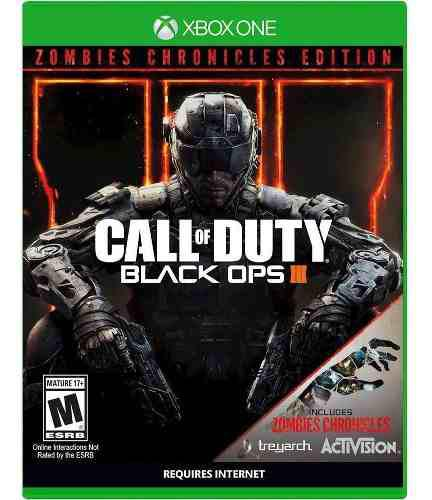 Call Of Duty Black Ops Iii Zombies Chronicles Para Xbox One