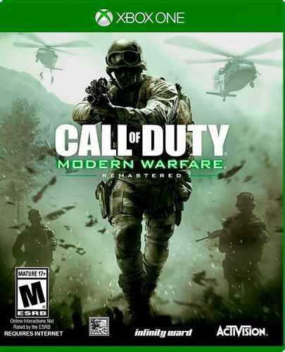 Call Of Duty Modern Warfare X1 Remasterizado - Nuevo