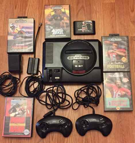 Consola Sega Genesis 16 - Bit Seminuevo De Colección.