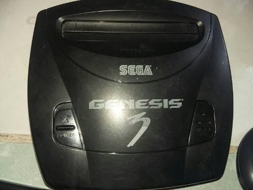 Consola Sega Genesis 3 Con 3 Cartuchos Originales