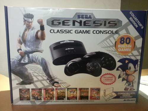 Consola Sega Genesis Con 80 Juegos Incluidos