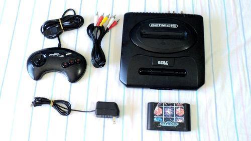 Consola Sega Genesis Slim Mk-1631 Con Control Y Juego