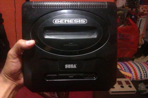 Consola Sega Genesis (con Antena De Audio Y Video)