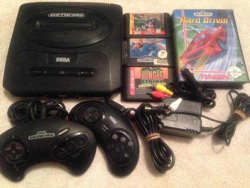 Consola Sega Génesis 2 Controles Juegos Completa