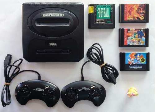 Consola Sega Génesis 2+2 Controles+4 Juegos:)