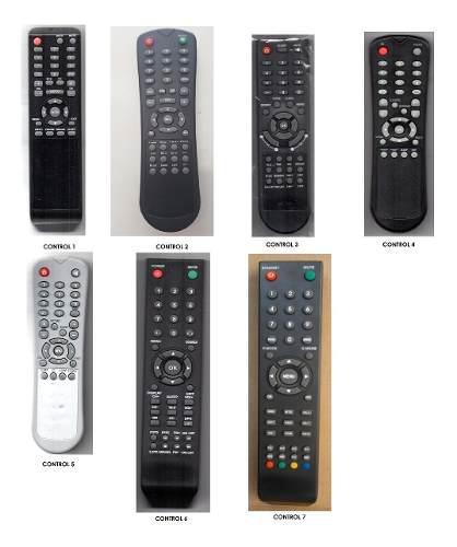 Control Para Tv Lcd Led Marcas Atvio, Mitsui, Speler, Lexus