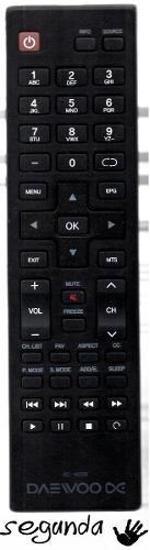 Control Remoto Original Para Television Lcd Led Daewoo
