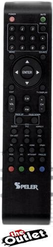 Control Remoto Original Para Television Lcd Led Speler