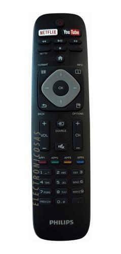 Control Remoto Original Philips Smart Tv Lcd Led Netflix Gdl