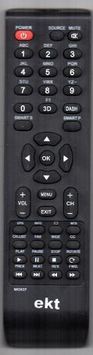 Control Remoto Para Television Lcd Led Marca Ekt
