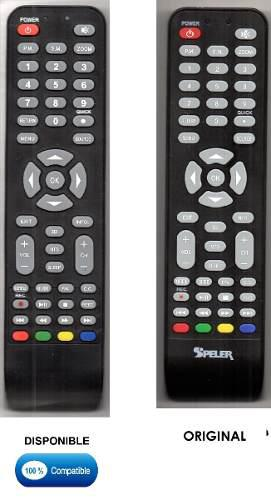 Control Remoto Para Tv Lcd Led Marca Speler (boton 3d)