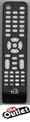 Control Remoto Tv Lcd Led Tlk Boton 3d
